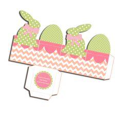 gratuit boite paques à imprimer free printable easter box 2
