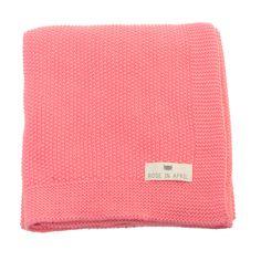 molly meg blanket, salmon pink