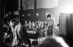 Syd Barrett and Pink Floyd performing live in 1967.© Michael Putland / Retna/Photoshot