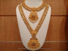 Latest Indian Bridal Necklace Sets, Indian Bridal Necklace Designs, Gold Bridal…