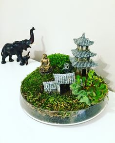 Handmade minigarden, fairygarden!