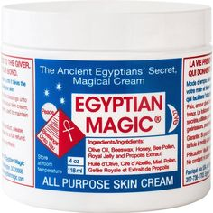 Egyptian Magic Natural All Purpose Skin Cream. Try Egyptian Magic All Purpose Skin Cream. Ancient Kamitian (Egyptian) folklore recalls the existence of a miraculous skin cream secretly used by. Beauty Secrets, Diy Beauty, Beauty Skin, Beauty Hacks, Health And Beauty, Beauty Products, Beauty Tips, Beauty Buy, Skin Secrets