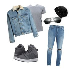 """""""New_post"""" by benelux2 ❤ liked on Polyvore featuring Neuw denim, Simplex Apparel, Fear of God, adidas, men's fashion and menswear"""