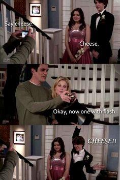 Modern family. Lol