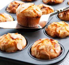 Muffiny z białą czekoladą