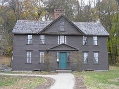 orchard house, concord - oh I would love to pretend to be the fifth March daughter for a few moments!