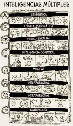 Inteligencias Múltiples descripción, Cuando el sistema educativo entienda esto, dejara de haber tantos niños y jóvenes frustrados!