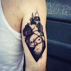 Berlin / by / Dark Mark Tattoos, Dark Tattoo, Dope Tattoos, Pretty Tattoos, Beautiful Tattoos, Body Art Tattoos, Girl Tattoos, Sleeve Tattoos, Tattoos For Women