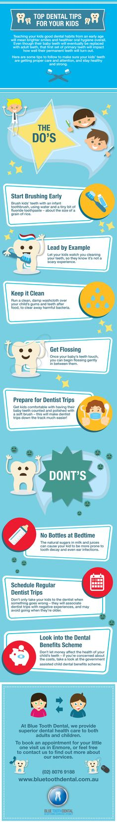 Top Dental Tips for Your Kids