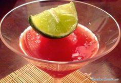 Sorbete de sandía #Bebidas #Recetasfáciles #BebidasRefrescantes #BebidasSaludables #BebidasNaturales #BebidasSinAlcohol #Sorbete