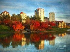 autumn in Kelowna BC Canada