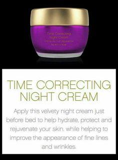 Time correcting night cream