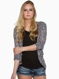 Leopard Cocoon Cardigan #vanity #fashion #womens #womensfashion #womensapparel #spring2014 #cardigan #leopard #printed