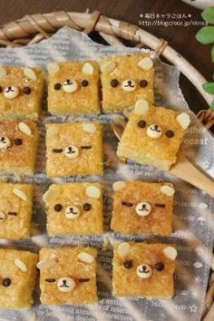 Rilakkuma Blondies