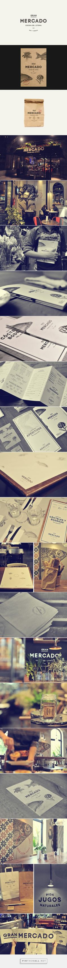 Gran Mercado on Behance   Fivestar Branding – Design and Branding Agency & Inspiration Gallery