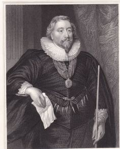 Portrait-XIXe-Richard-Weston-1st-Earl-of-Portland-Chancellor-of-the-Exchequer