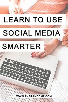 Learn to use Social Media smarter for your small business or blog: therandomp.com/...