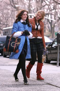 Blair & Serena (Season 1, Episode 14 , The Blair Bitch Project)