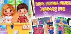 Build your own manage all the and Flying high with the interactive flight Free Android Games, Android Apps, Build Your Own, Games For Kids, Google Play, Aircraft, Activities, Fun, Diy