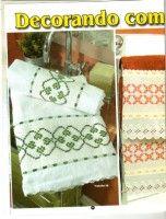 "Gallery.ru / logopedd - Альбом ""1"" Hand Towels, Tea Towels, Chicken Scratch Embroidery, Tablecloths, Bath, Google, Bath Towels & Washcloths, Diy And Crafts, Cross Stitch"