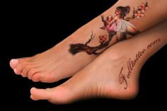 fairy tattoo designs for women | Fairy tattoos. Fairies are also among the top choices of women. Fairy ...