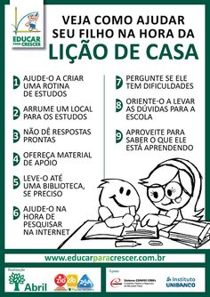 Dicas simples para envolver professores, alunos e pais na melhoria da qualidade de ensino no Brasil.                http://educarparacresce...