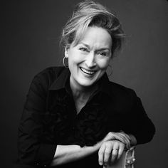 The formula of happiness and success is just, being actually yourself, in the most vivid possible way you can. Marly Streep