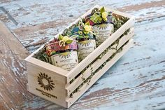 Florida Artisan Jam Wooden Gift Crate $35  Sunchowder's Emporia jams are amazing.