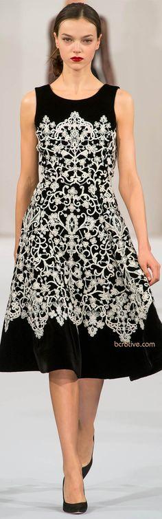 elegante basico preto com branco