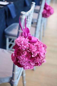 Wedding Pew Decoration