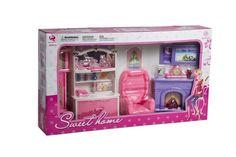 Set de Sala para muñecas, marca Sweet Home.