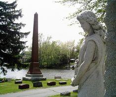 La Belle Cemetery. Oconomowac, Wieconsin