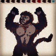 Kingkong the Gargantuan Monkey  / movie creature monster / animal / 킹콩 / 원숭이 / 몬스터 / 괴물 / 괴수 영화 / 동물