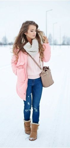 fine 42 Hottest Boots for Winter Look http://attirepin.com/2018/01/02/42-hottest-boots-winter-look/