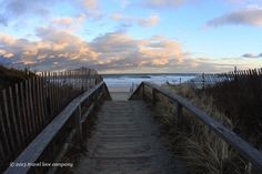 Footbridge Beach, just north of Ogunquit Beach, is great if you want to get away from the crowds. The beach gets its name because you have to walk on a wooden footbridge over the Ogunquit River and the dunes to get to it.