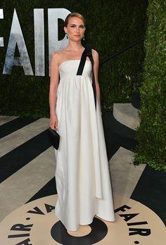 2013 Vanity Fair Oscar Party Hosted By Graydon Carter - Arrivals: Natalie Portman