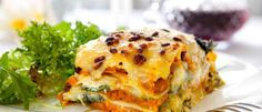 #BiggestLoser Entree: Veggie Lasagna