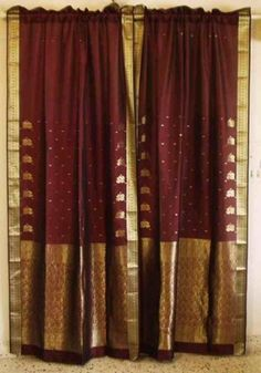 Red and Gold Sari Cu