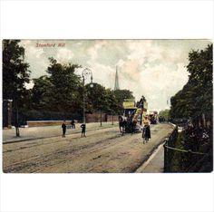 LNE: Stamford Hill London N E coloured postcard by Charles Martin on eBid United Kingdom