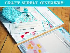 Blitsy is having a craft supply giveaway ..love it