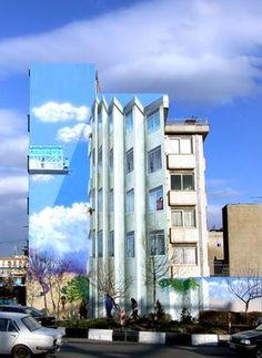 Folded Walls, by Mehdi Ghadyanloo