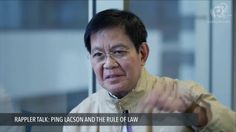 "Lacson blames Duterte for allowing PNP to do 'practically anything' - WATCH VIDEO HERE -> http://dutertenewstoday.com/lacson-blames-duterte-for-allowing-pnp-to-do-practically-anything/   Senator Ping Lacson says President Rodrigo Duterte ""neglected to remind the police they should operate within the rule of law."" Full story:  News video credit to Rappler's YouTube channel"