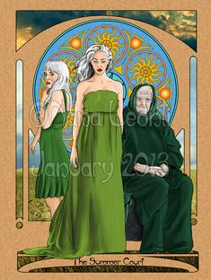 The Summer Court of the Sidhe by ~nanaleonti on deviantART