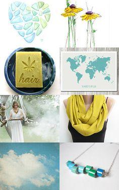 spring colors with my #hemp #shampoo bar #etsy