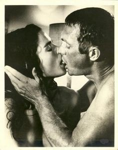 Ali MacGraw and Steve McQueen: I am convinced this man was a fantastic kisser--see him with Faye in Thomas Crown Affair!!!