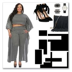 Plussizeforless by plussizeforless on Polyvore featuring polyvore fashion style Gianvito Rossi SONOMA Goods for Life New Look clothing