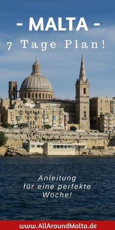 7 Tage auf Malta: Anleitung für eine perfekte Woche!
