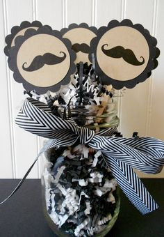 Mustache Cupcake Toppers Mustache Cupcake Picks by ThePropMarket