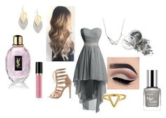 """""""Prom Night"""" by reynaquicksilver ❤ liked on Polyvore featuring Charlotte Russe, Revlon, ChloBo, RMK and Yves Saint Laurent"""