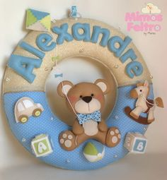 Guirlanda ursinhos e brinquedos